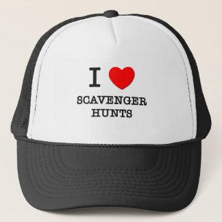 I Love Scavenger Hunts Trucker Hat