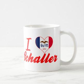 I Love Schaller, Iowa Coffee Mug