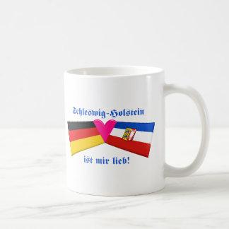 I Love Schleswig-Holstein ist mir lieb Basic White Mug