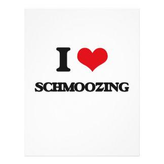 I Love Schmoozing Flyer