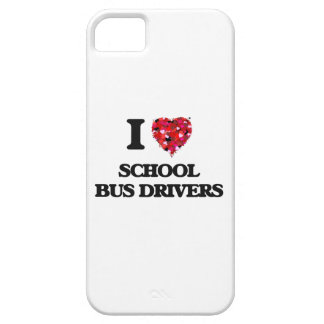 I love School Bus Drivers Barely There iPhone 5 Case