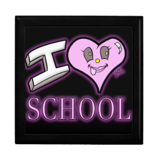 I Love School Design for Learners and Educators Gift Box