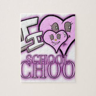 I Love School Design for Learners and Educators Puzzle