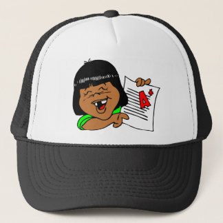 I love school! trucker hat