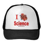 I Love Science Cap