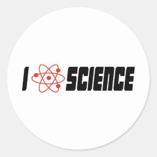 I love science sticker