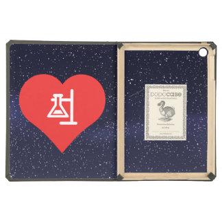 I Love Scientific Experiments Modern iPad Air Cases