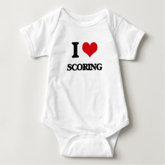 I Love Scoring Tshirt