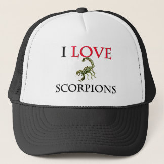 I Love Scorpions Trucker Hat