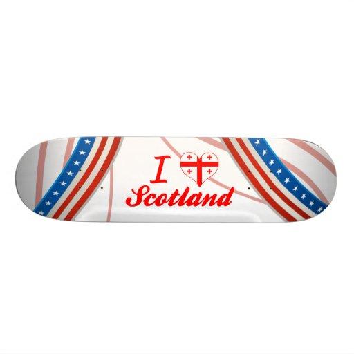 I Love Scotland, Georgia Skate Board