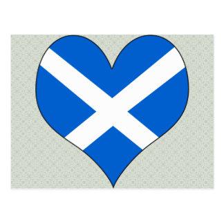 I Love Scotland Postcard