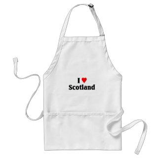 I love scotland standard apron