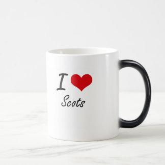 I Love Scots Morphing Mug
