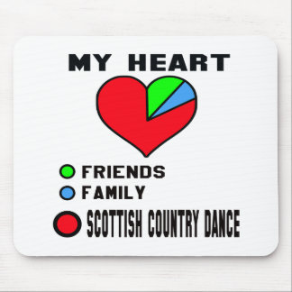 I love Scottish Country dance. Mouse Pad