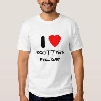 I love Scottish Folds Tshirt