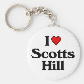 I love Scotts Hill jpg Keychains