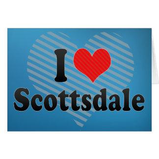 I Love Scottsdale Greeting Card