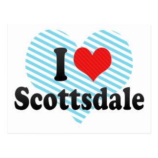 I Love Scottsdale Post Cards