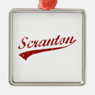 I Love Scranton Pennsylvania Christmas Ornament