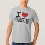 I LOVE SCRATCHING TEE SHIRT
