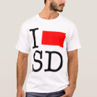 I Love SD South Dakota T-Shirt