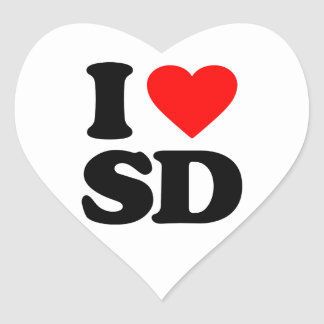 I LOVE SD STICKERS