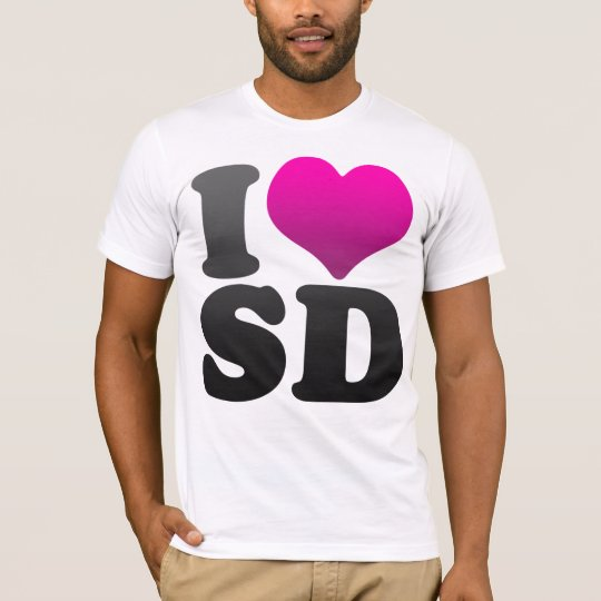 I LOVE SD T-Shirt