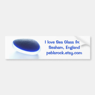 I love Sea Glass from Seaham Beach Bumper Sticker