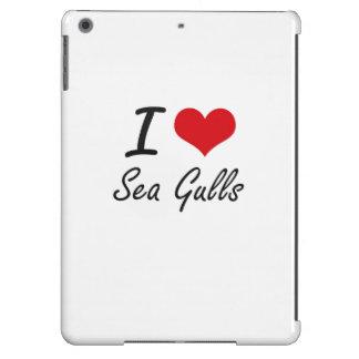 I Love Sea Gulls iPad Air Cover