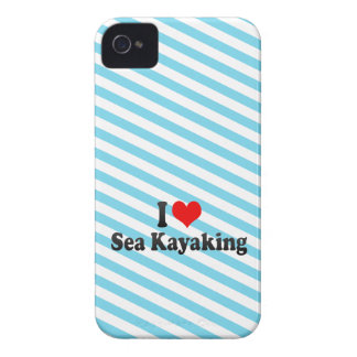 I love Sea Kayaking Case-Mate iPhone 4 Case