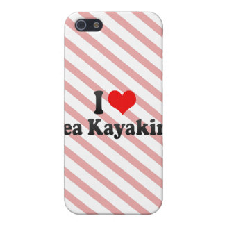 I love Sea Kayaking Case For iPhone 5