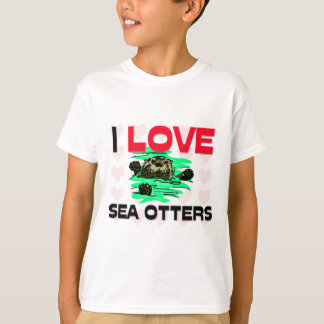 I Love Sea Otters Shirts