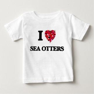 I love Sea Otters T-shirts