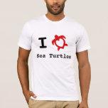 I Love Sea Turtles T-Shirt