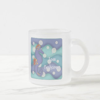 I Love Seahorses 2 - Swimming Seahorses Coffee Mug