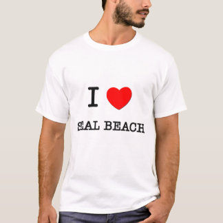 I Love Seal Beach California T-Shirt