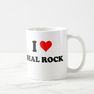 I Love Seal Rock California Coffee Mugs