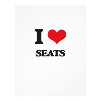 I Love Seats 21.5 Cm X 28 Cm Flyer