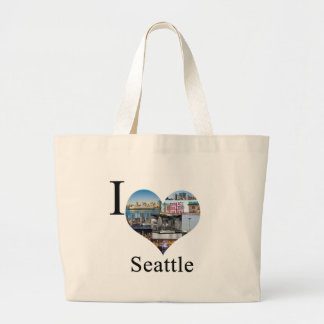 I Love Seattle Bags