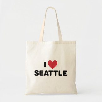 I Love Seattle Budget Tote Bag