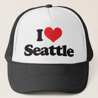 I Love Seattle Cap