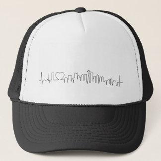 I love Seattle in a extraordinary style Trucker Hat