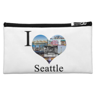 I Love Seattle! Makeup Bags