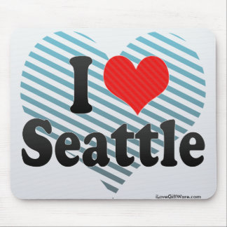 I Love Seattle Mousepad