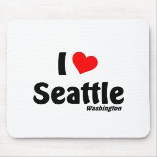 I love Seattle Washington Mousepad
