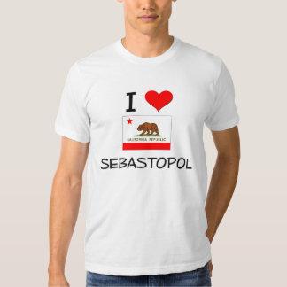 I Love SEBASTOPOL California Shirt