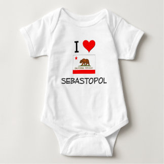 I Love SEBASTOPOL California T-shirts