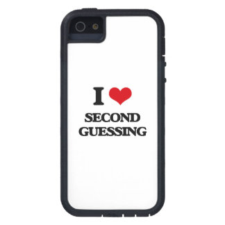 I Love Second Guessing iPhone 5 Cover