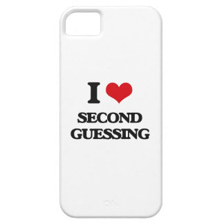 I Love Second Guessing iPhone 5 Cases