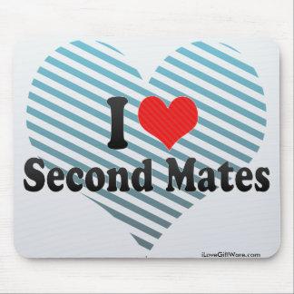 I Love Second Mates Mousepad